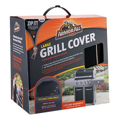 ArmorAll Mr Bar B Q Products 07801AA Grill Cover, 65 x 25 x 45-in. - Quantity 4