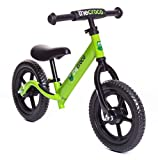 TheCroco LIGHTEST Aluminum Balance Bike, (4.3 lbs), Ages 1.5 to 5 Years (Green)