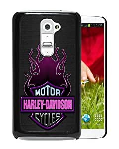 2015 Newest Harley Davidson Motor Company Black Durable LG G2 Protective Skin Cover Case