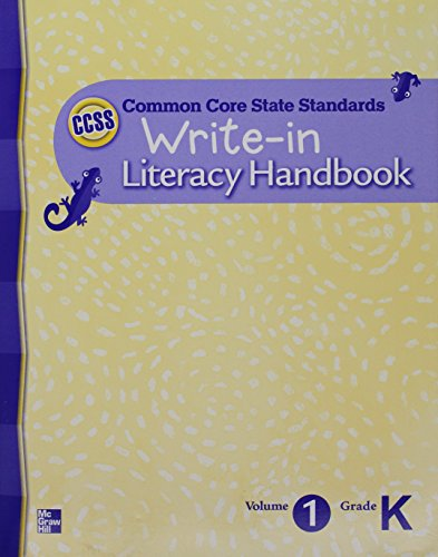 - Write-in Literacy Handbook (Common Core State Standards)