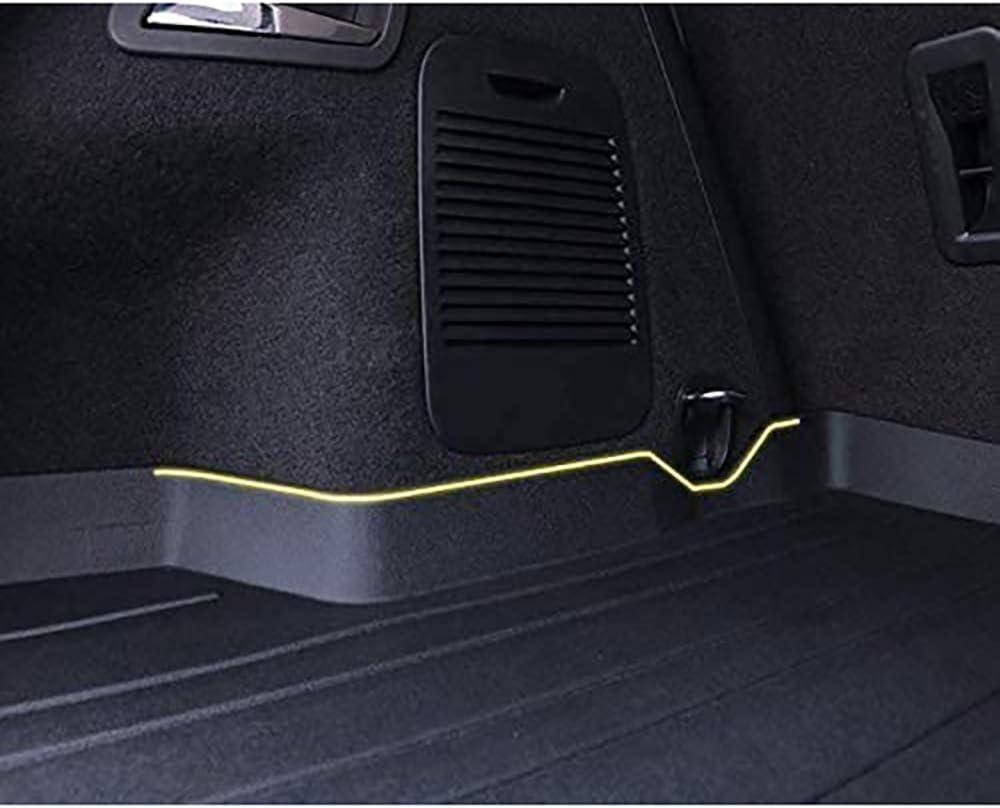 para Mercedes Benz C-Class Sedan 2015-2020 Bandeja Revestimiento Maletero Interior Coche Alfombrillas Goma Alfombrillas Maletero