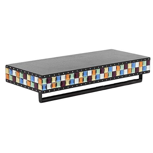 KE-Rack Mosaic - Perchero de Piel de Cristal para Esquina ...