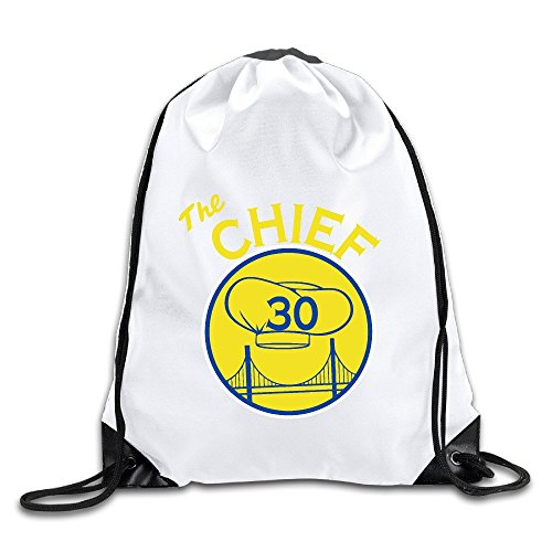 Curry 30 Chief Of Warriors Drawstring Backpack Bag Gym Sack