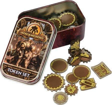 Iron Kingdoms: Full Metal Fantasy Token Set by Privateer Press