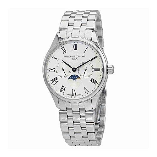 Frederique Constant Mens Classic Silver Dial Bracelet Watch FC260WR5B6B