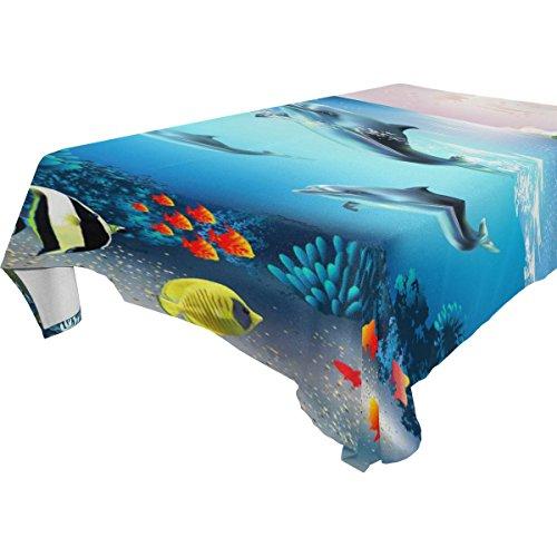 Marine Blue Pool Tablecloth - 7