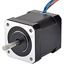 Nema 17 Stepper Motor Bipolar 2A 59Ncm(84oz.in) 48mm Body 4-lead W/ 1m Cable and Connector compatible with 3D Printer/CNC