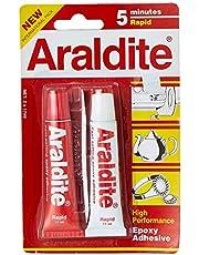 Araldite 5 Min Rapid, 17ml (Pack of 2)