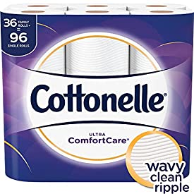 Cottonelle Ultra GentleCare Toilet Paper, Sensitive