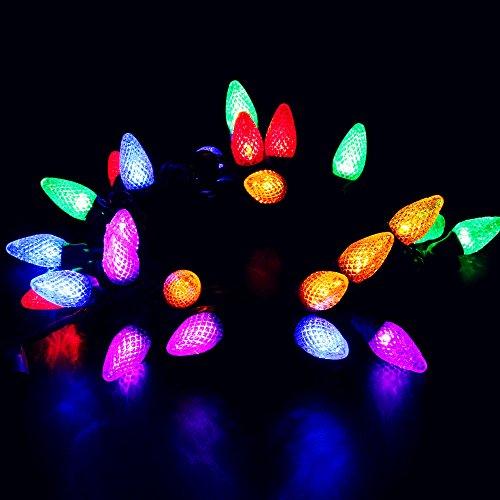 Colored Led Christmas Light Bulbs