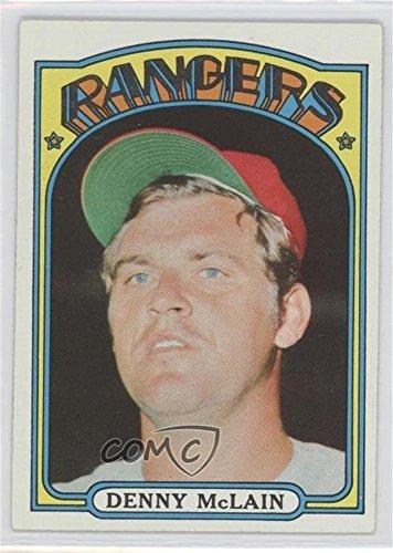 Denny McLain (Baseball Card) 1972 Topps - [Base] (Denny Mclain Baseball)