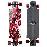 Landyachtz Longboard Complete Drop Hammer Cardinal 2017