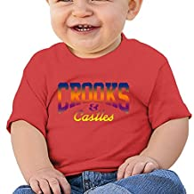 Crooks And Castles Cute Kids Baby (6-24 Months Baby) Unisex T Shirt
