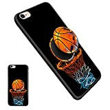 iPhone 6/6S Basketball Pop Mount Stand Case, Personalized Soft TPU Rubber Gel [Anti Scratch] Cover Case with Pop Mount Stand [Shock Absorption] for iPhone 6/6S(4.7 Inch) - Basketball06