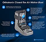 Orthotronix Closed-Toe Short Air Cam Walker Boot