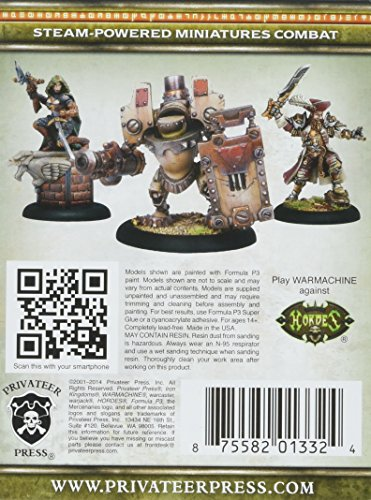 Privateer Press - Warmachine - Mercenary: Fiona The Black Privateer Model Kit 4