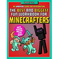 Deals on The Best and Biggest Fun Workbook for Minecrafters Grades 3 & 4 Book