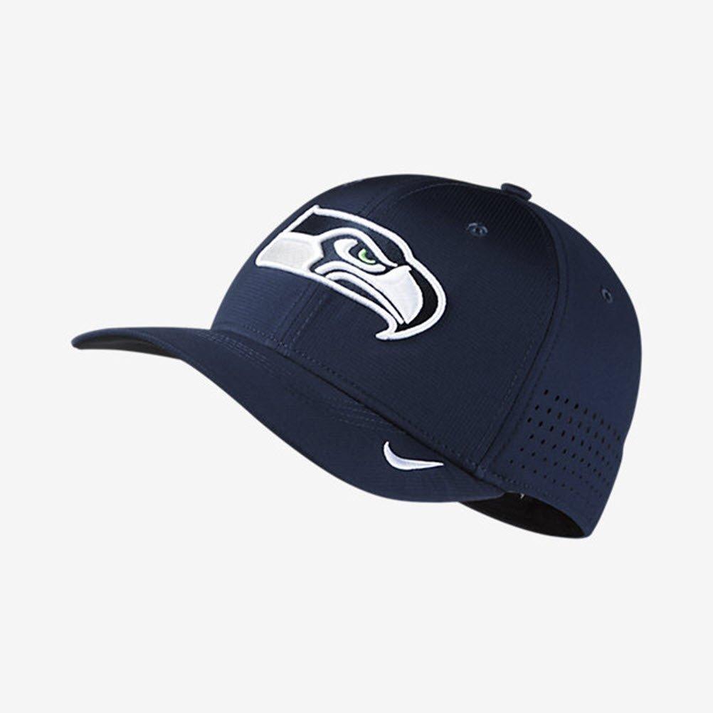 Nike Colegio Azul Marino Seattle Seahawks Flex Dri-fit Gorra de ...