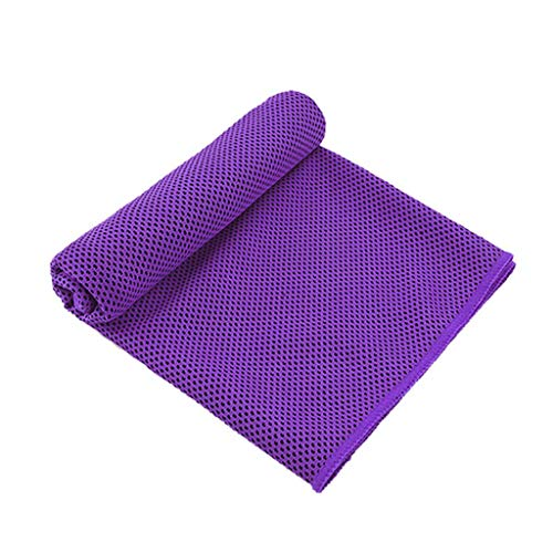 (Retrofish Instant Cooling Towels, Soft Breathable Chilly Towels -UPF 50+ Microfiber Ice Towel for Sports, Running, Workout, Fitness, Gym, Yoga, Pilates, Travel, Camping & More Activities)