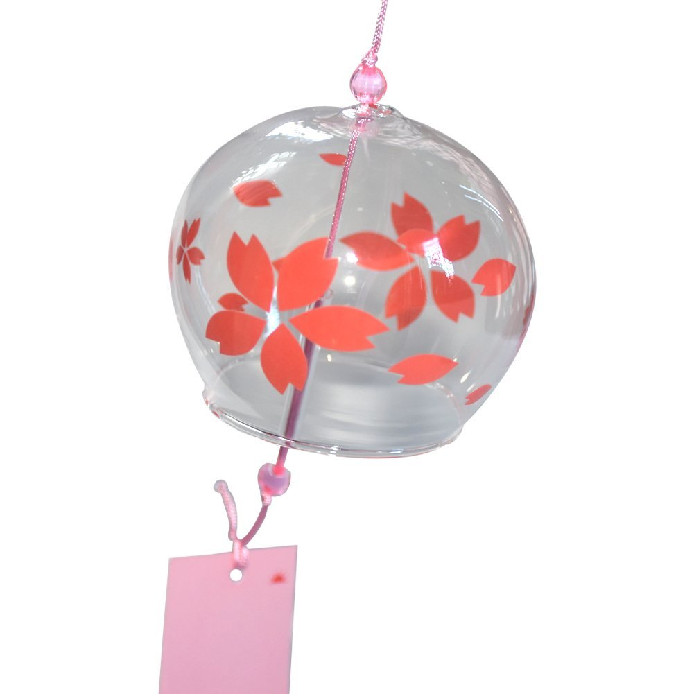 Amazon.com : Japanese Wind Chimes Handmade Glass Wind Bells Birthday ...