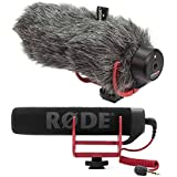Rode VideoMic GO On-Camera Shotgun Microphone and DeadCat Wind Cover Kit