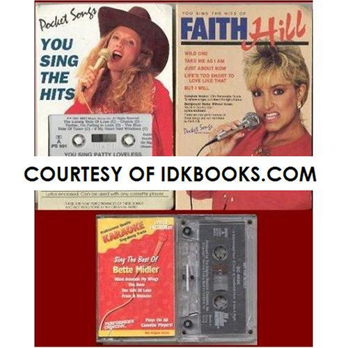 RARE - YOU SING PATTY LOVELESS (Pocket Songs: You Sing the Hits) CASSETTE & LYRICS - PS 501 **PLUS 3 FREE GIFTS: You Sing The Hits of Faith Hill - PS 2174 (No Lyrics) / Karaoke Sing The Best of (Biggest Bundle)
