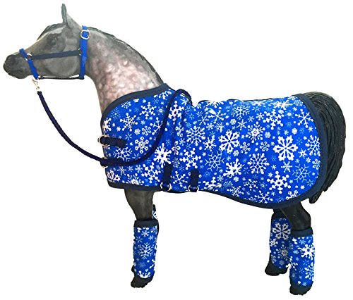 Model Horse Tack Set, Let It Snow - Model Horse Tack