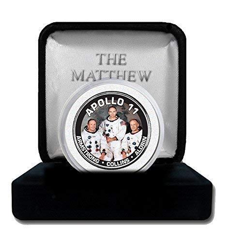 The Matthew Mint Apollo 11 Astronauts JFK Half Dollar (The Three Astronauts That Landed On The Moon)