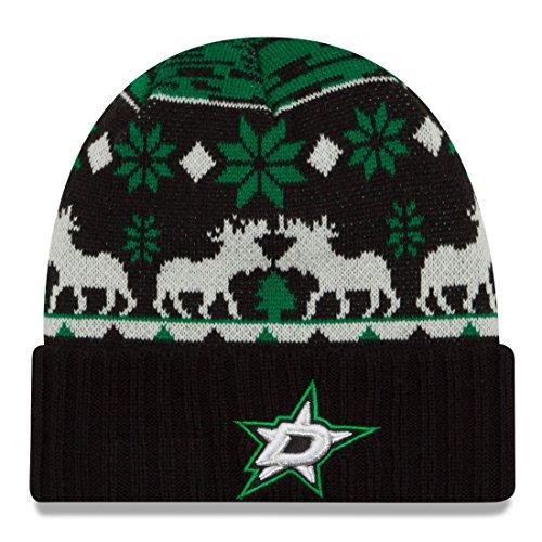 """Dallas Stars New Era NHL """"Team Mooser"""" Cuffed Knit Hat"""