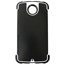 Ballistic TJ1539-A08C Tough Jacket Case for Motorola Nexus 6 - Black/White