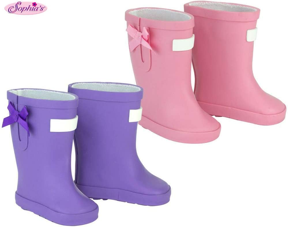 Buckled Snow Boots Made for 18 Inch American Our Generation Doll Clothing