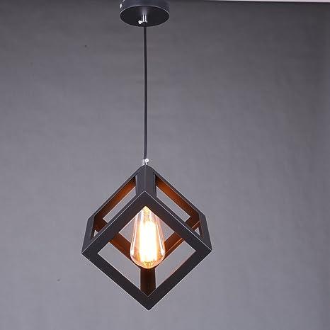 Industrial Cube estilo de luz de techo, SUN RUN Creative ...