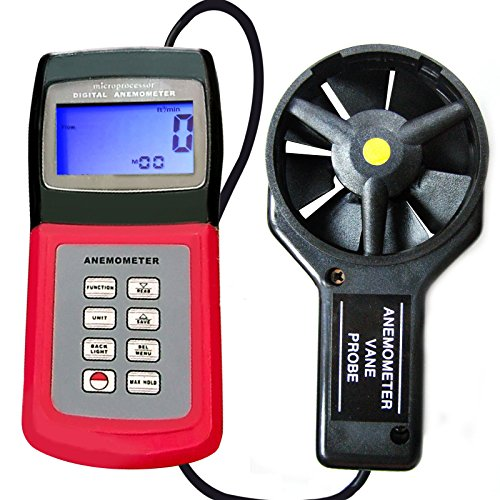 Landtek Instruments Multi Function Thermo Anemometer with Vane