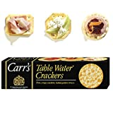 CARR's Table Water Original, Sesame and Cracked Pepper Assortment, 125 Gram