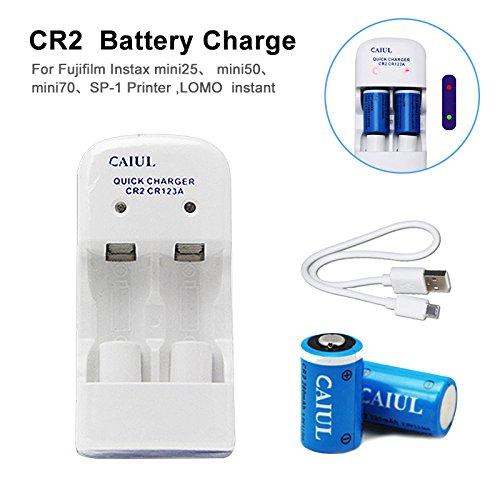 RedshooeYY 5V 280mAh CR2CR123A Batería de Litio Inteligente ...