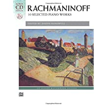 Rachmaninoff - 10 Selected Piano Works: Book and CD