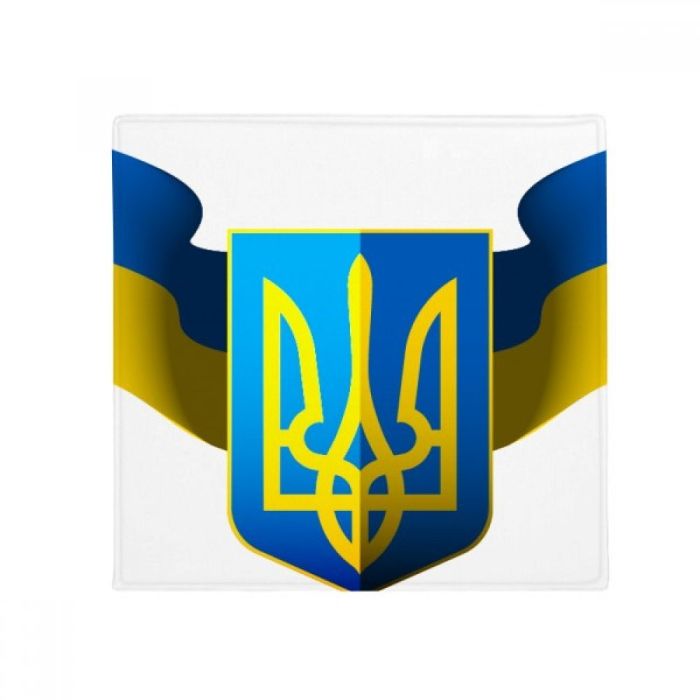 DIYthinker Ukraine National Emblem Country Anti-Slip Floor Pet Mat Square Home Kitchen Door 80Cm Gift