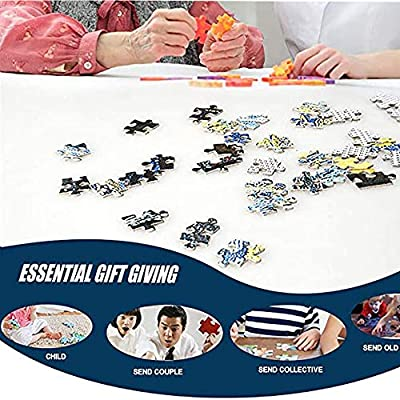1000 Pieces Jigsaw Puzzles for Adults Kids, Educational Intellectual Decompressing Fun Game - Hand Made Puzzles Holiday Personalized Gift (Sunflower): Toys & Games