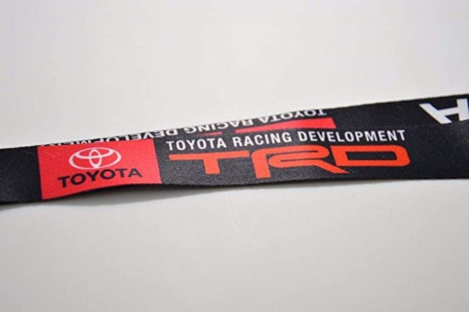 JDM Toyota TRD JDM Lanyard Keychain Quick Release Corolla Tacoma Prius Camry New