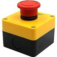 Heschen Red Sign noodstopschakelaar, drukknop, 660 V, 10 A, met box