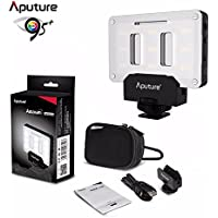 Aputure AL-M9 on Camera Daylight Mini LED Light Pocket sized LED Fill Light 5500K with 9pcs SMD light Beads for DSLRs