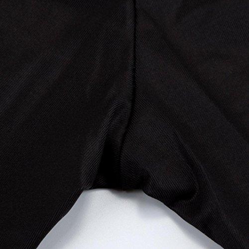pantalon Loisirs Grande mince lasticit 3XL noir Slim taille Mamum Haute femmes tait taille noir nwzxw81q
