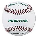 MacGregor Practice Baseballs, Youth, Leather (One Dozen)