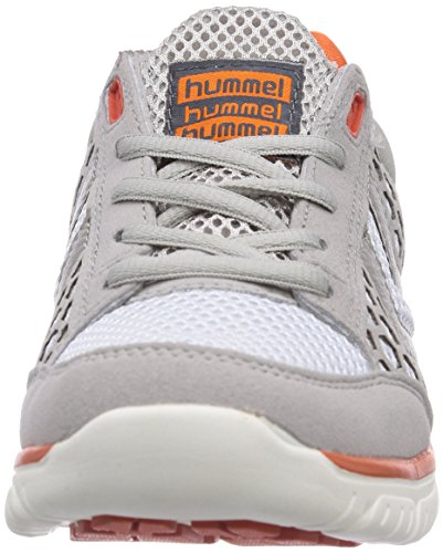 hummel HUMMEL CROSSLITE - Zapatillas de gimnasia, unisex Grau (Dove 1018)
