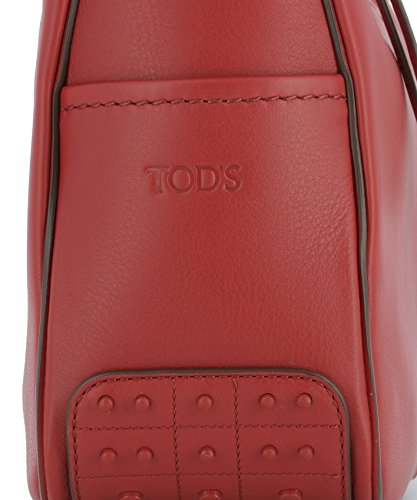 Tod's Borsa A Spalla Donna XBWMKYE0200MTIR401 Pelle Rosso