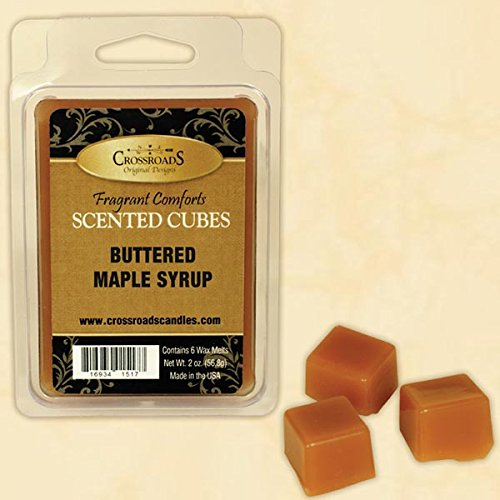 Crossroads Buttered Maple Syrup Scented Cubes, 2oz