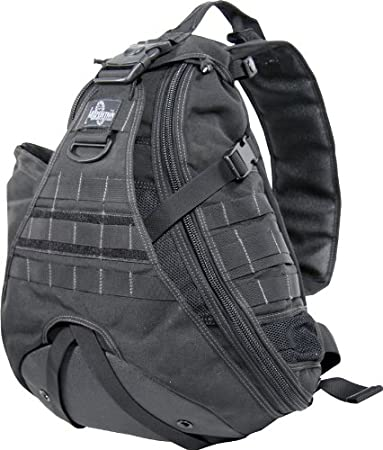 Amazon.com : Maxpedition Monsoon Gearslinger, Black : Tactical ...