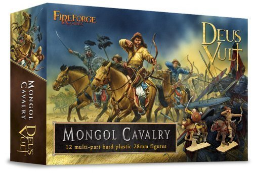 (Mongol Cavalry - 28mm Hard Plastic figures by Fireforge Games by Fireforge Games)