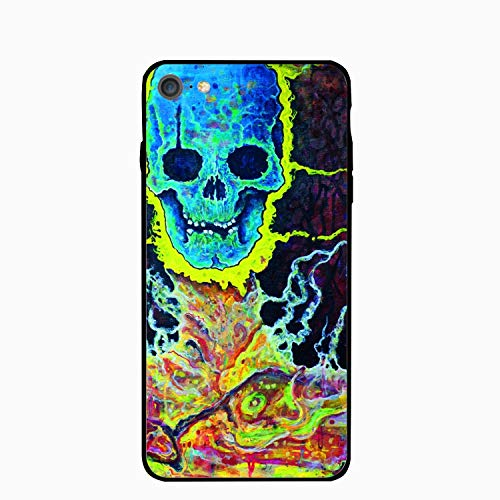 Pop Skull iPhone 6S Case/iPhone 6 Case Rubber Shockproof Cover Compatible with iPhone 6 / 6S -