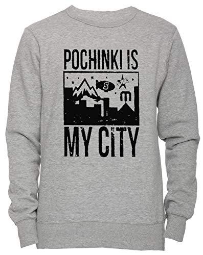 shirt Women's Gris Pochinki Tailles Erido Toutes Sweat Pull Jersey Homme Femme City over My Is Les Unisexe Grey Sweatshirt Men's Tg7gR8qw